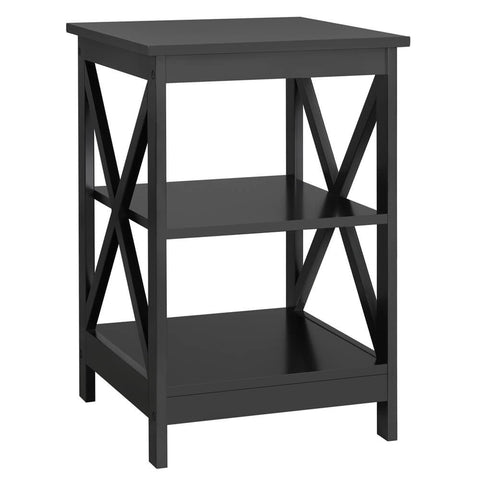 3 Tier Sofa Side End Table with Shelf-Costoffs