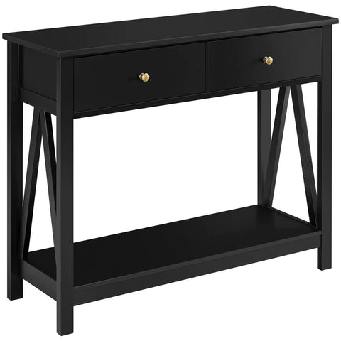 Wooden Console Table-Costoffs