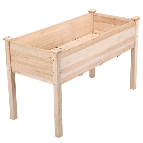 Wooden Garden Planter Bed-Costoffs