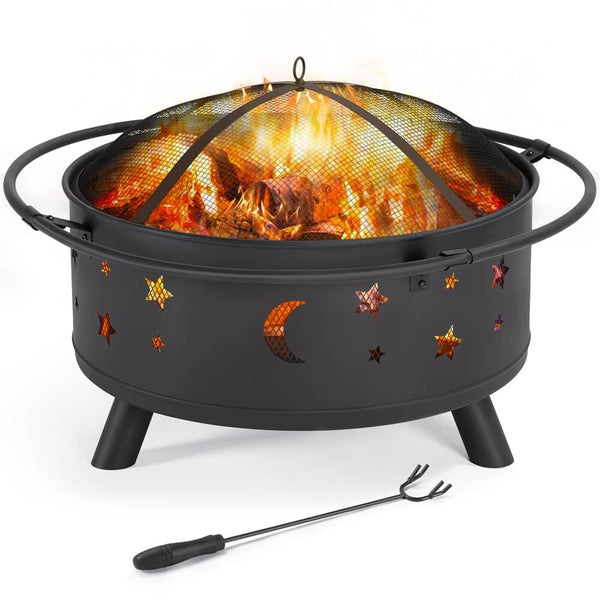 30 Inch Patio Fire Pit-Costoffs