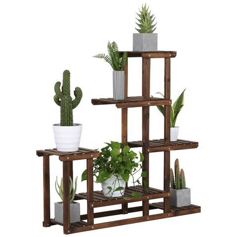 Wooden Flower Stand-Costoffs