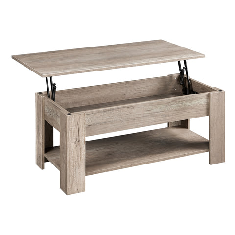 Lift Top Rustic Coffee Table-Costoffs