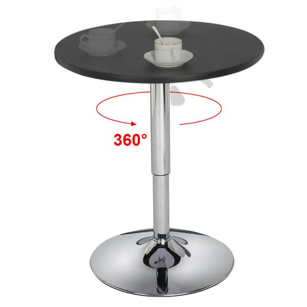Height Adjustable Round Bar Table-Costoffs