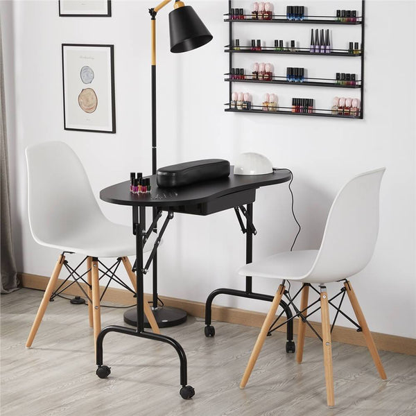 Foldable Manicure Table-Costoffs