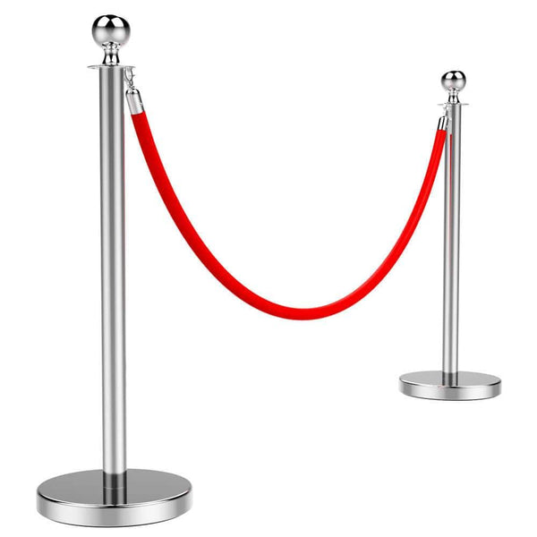 Ball Top Stainless Steel Stanchion-Costoffs