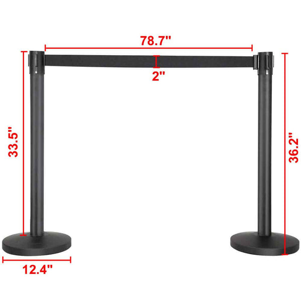 Nylon Rope Stanchion Set-Costoffs