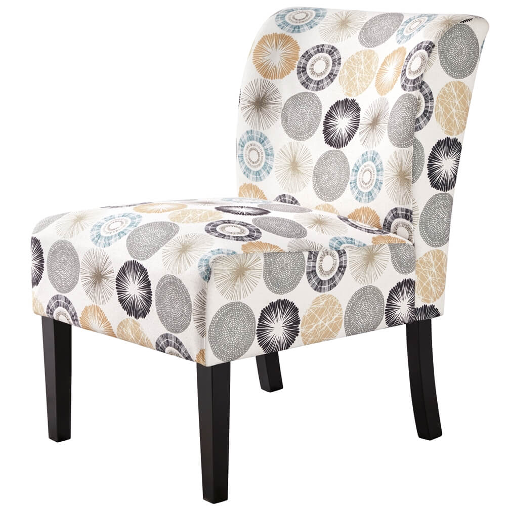 Fabric Accent Chair Side Chairs-Costoffs