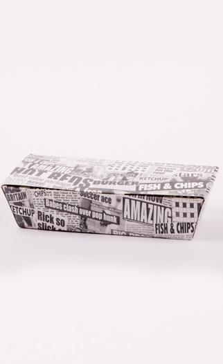 Newsprint Food Box QAR Supplies