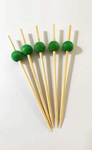 Coloured Ball Skewers QAR Supplies