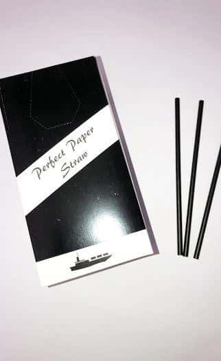 Black Paper Straws QAR Supplies
