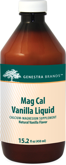 Mag Cal Vanilla Liquid 450 ML