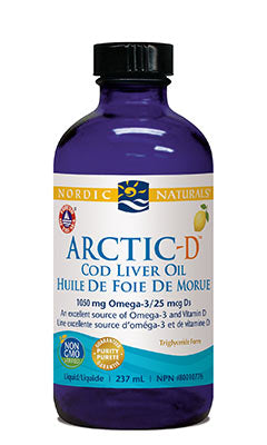 Cod Liver Oil plus D (8oz)