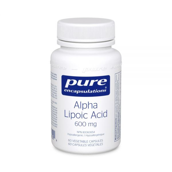 Alpha Lipoic Acid 600 mg (60 capsules)
