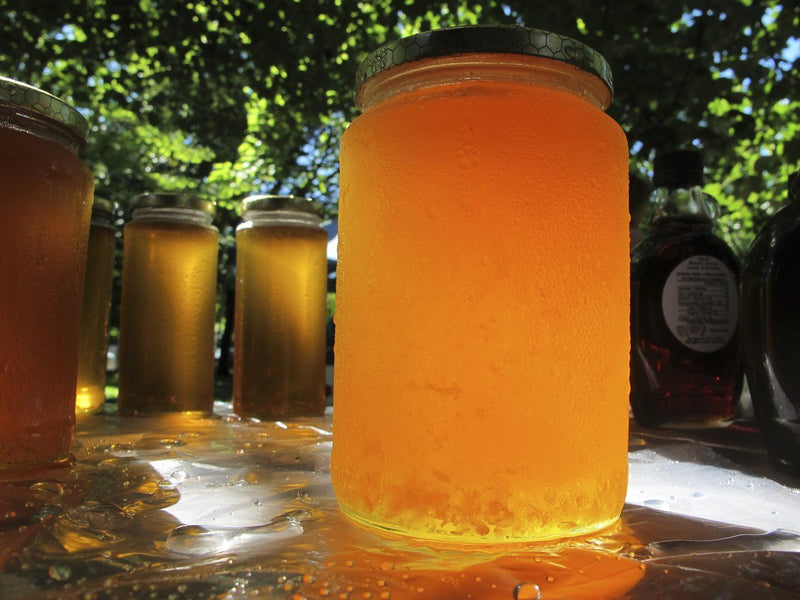 Raw Ontario Creamed Honey
