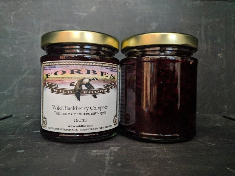 Wild Blackberry Compote