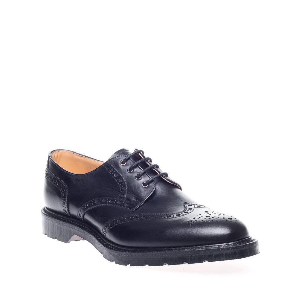 Black Horween Gibson Brogue Shoe