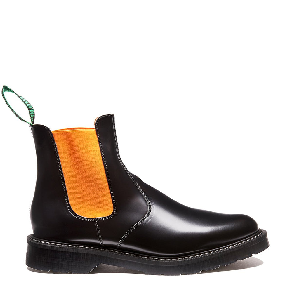Orange & Black Dealer Boot