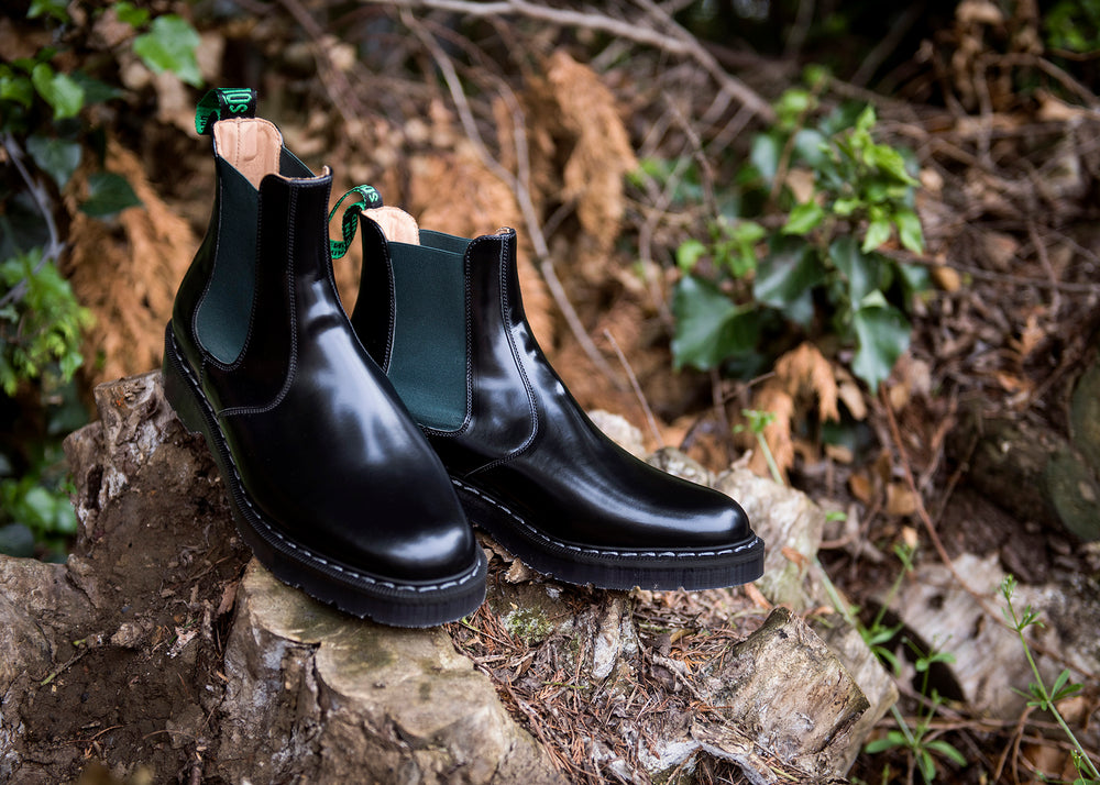 Green & Black Dealer Boot