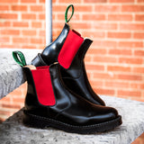 Red & Black Dealer Boot