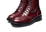 Oxblood Hi-Shine 11 Eye Astronaut Boot