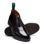 Black Hi-Shine Chukka Boot