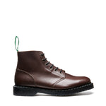 Brown Waxy 6 Eye Astronaut Boot