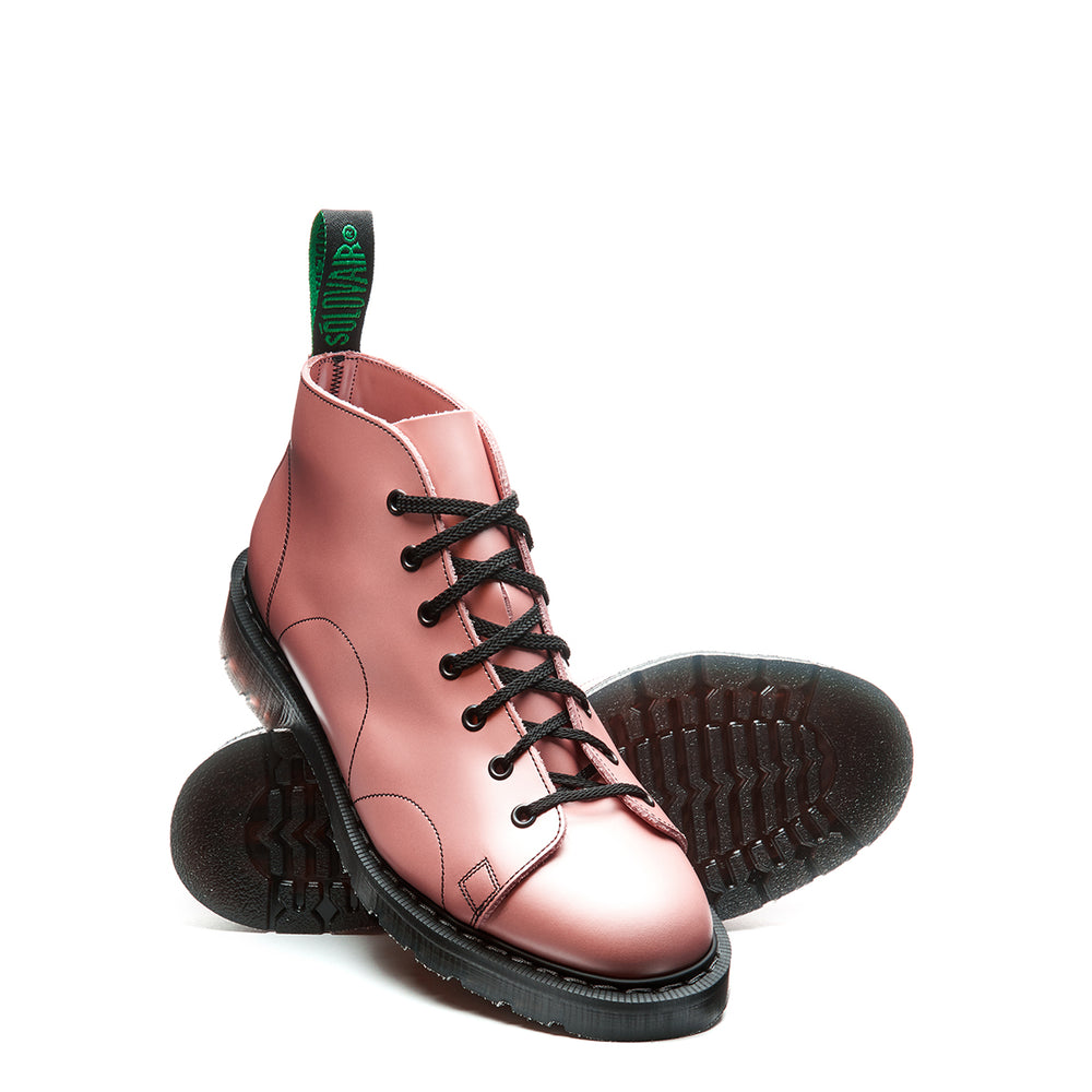 Iridescent Pink Hi-Shine Monkey Boot