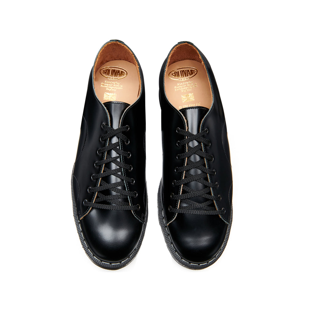 Black Hi-Shine Monkey Shoe
