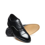 Pimlico Black Vegan 5 Eye Oxford Shoe