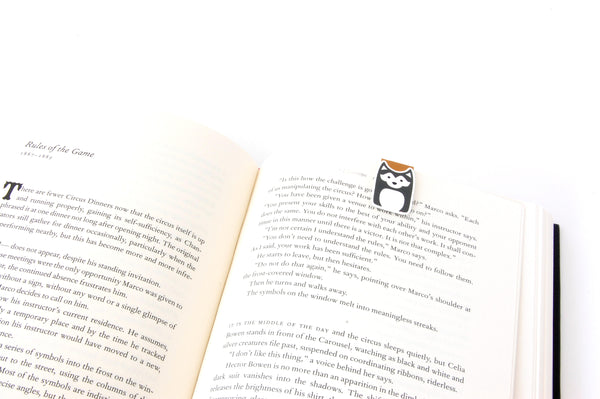 Husky Magnetic Bookmarks Set of 4