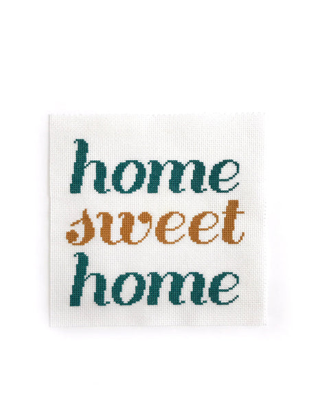 Home Sweet Home Cross Stitch Pattern
