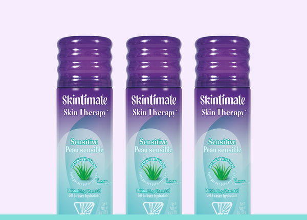Skintimate® Skin Therapy Sensitive Skin Shave Gel - 3 Pack