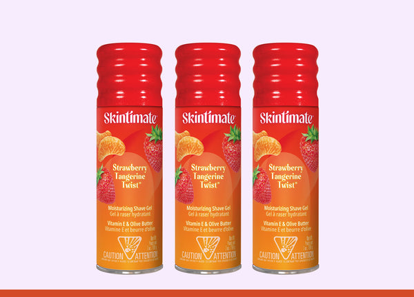 Skintimate Signature Scents® Strawberry Tangerine Twist® Shave Gel - 3 Pack