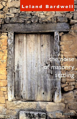 The Noise of Masonry Settling