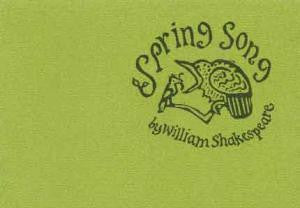 Spring Song by Shakespeare, William