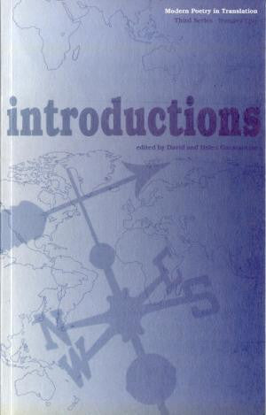 Modern Poetry in Translation (Series 3 No.1) Introductions