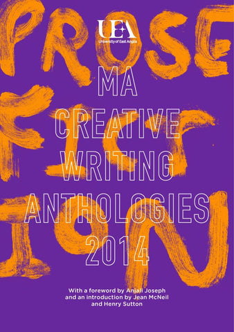 UEA Prose Fiction 2014