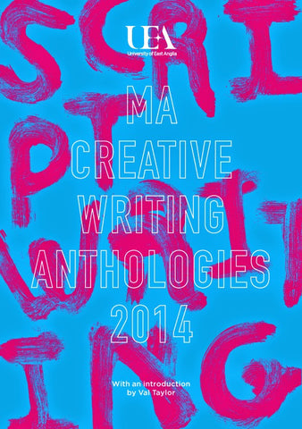 UEA Creative Writing Anthology Scriptwriting 2014