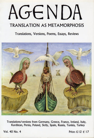 Agenda - Translation as Metamorphosis