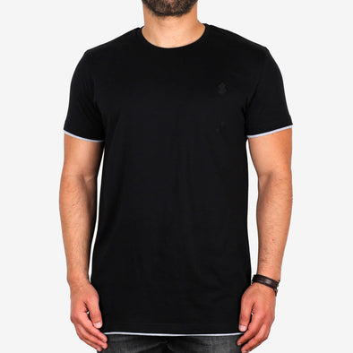 Double Tip Crew-Neck T-Shirt