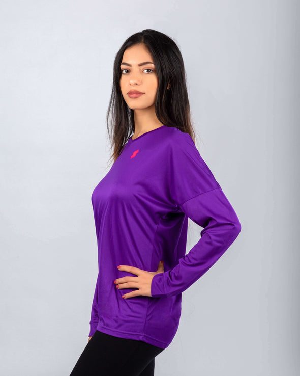 WT20 Women Basic Hi-Dri Tee Long Sleeve