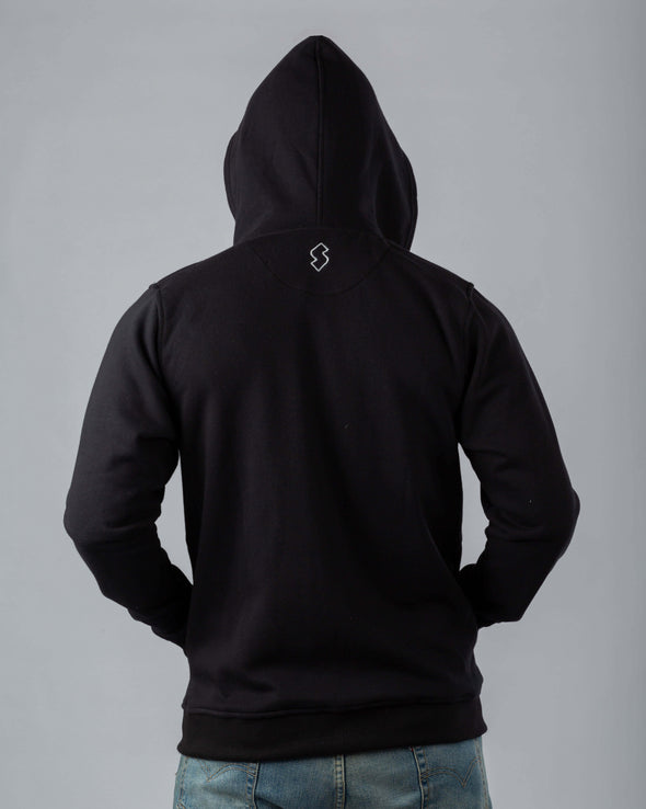 Full Zip Basic Cotton Hoodie