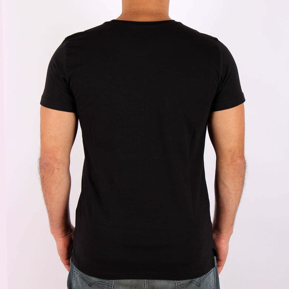 Side Split Crew-Neck Tee