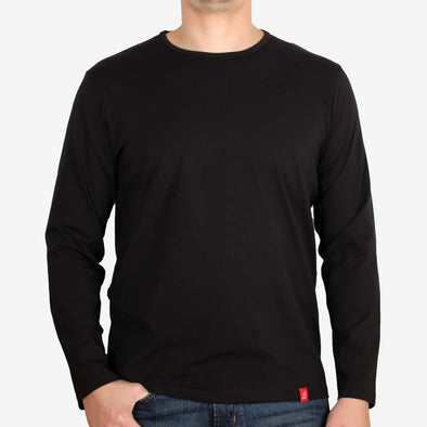 Long Sleeve Cotton Lycra T-Shirt