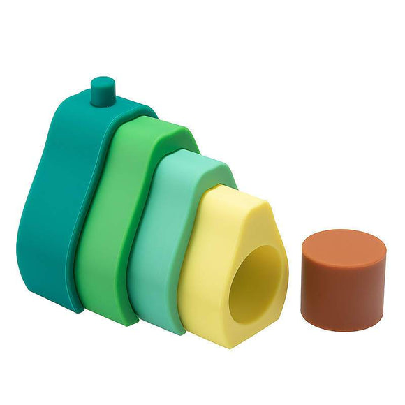 Silicone Stacking Avocado