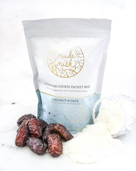 Lactation Cookie Packet Mix - Coconut & Date