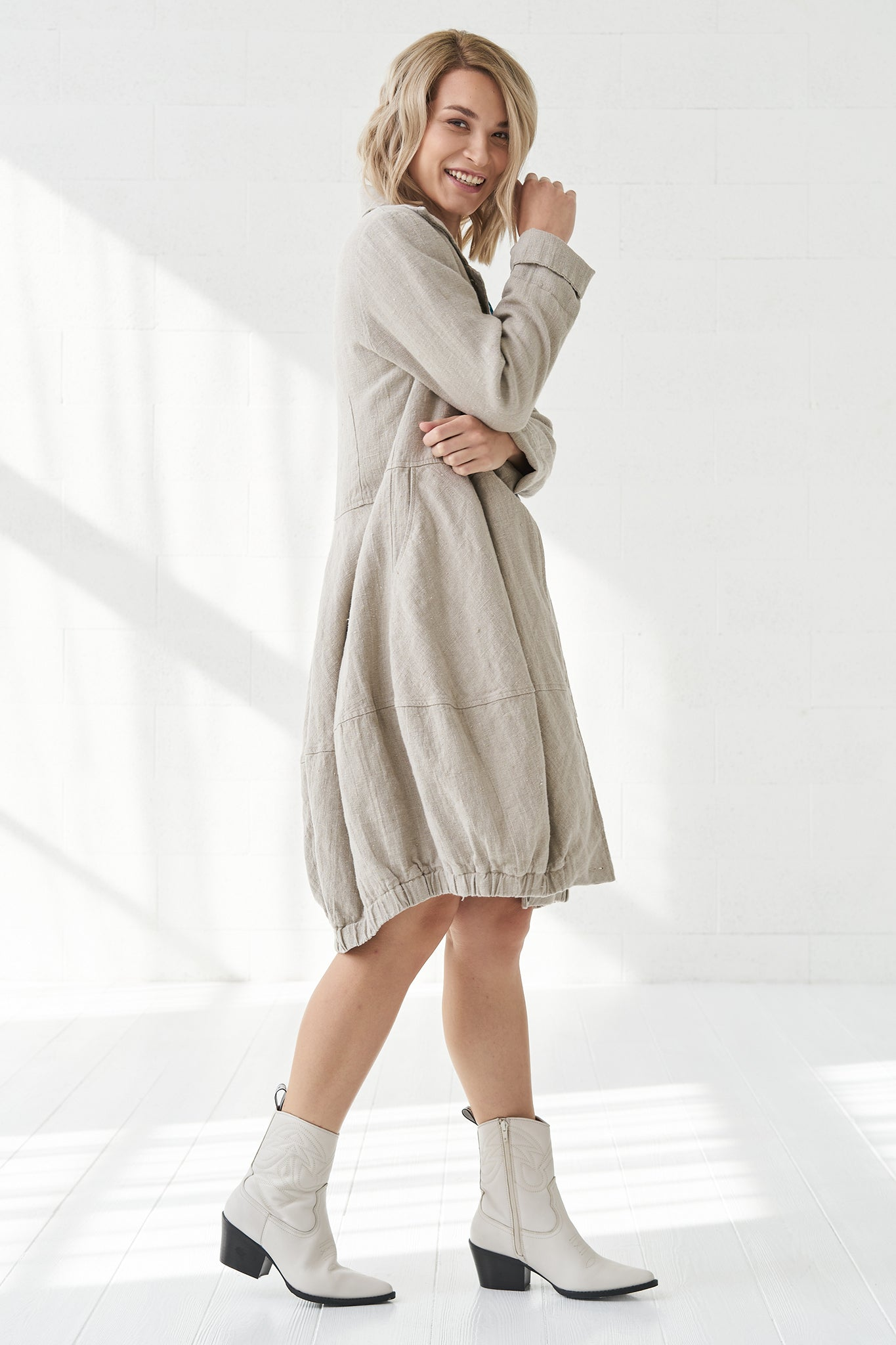 Linen coat Evelina