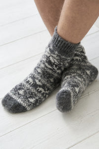 Christmas wool socks