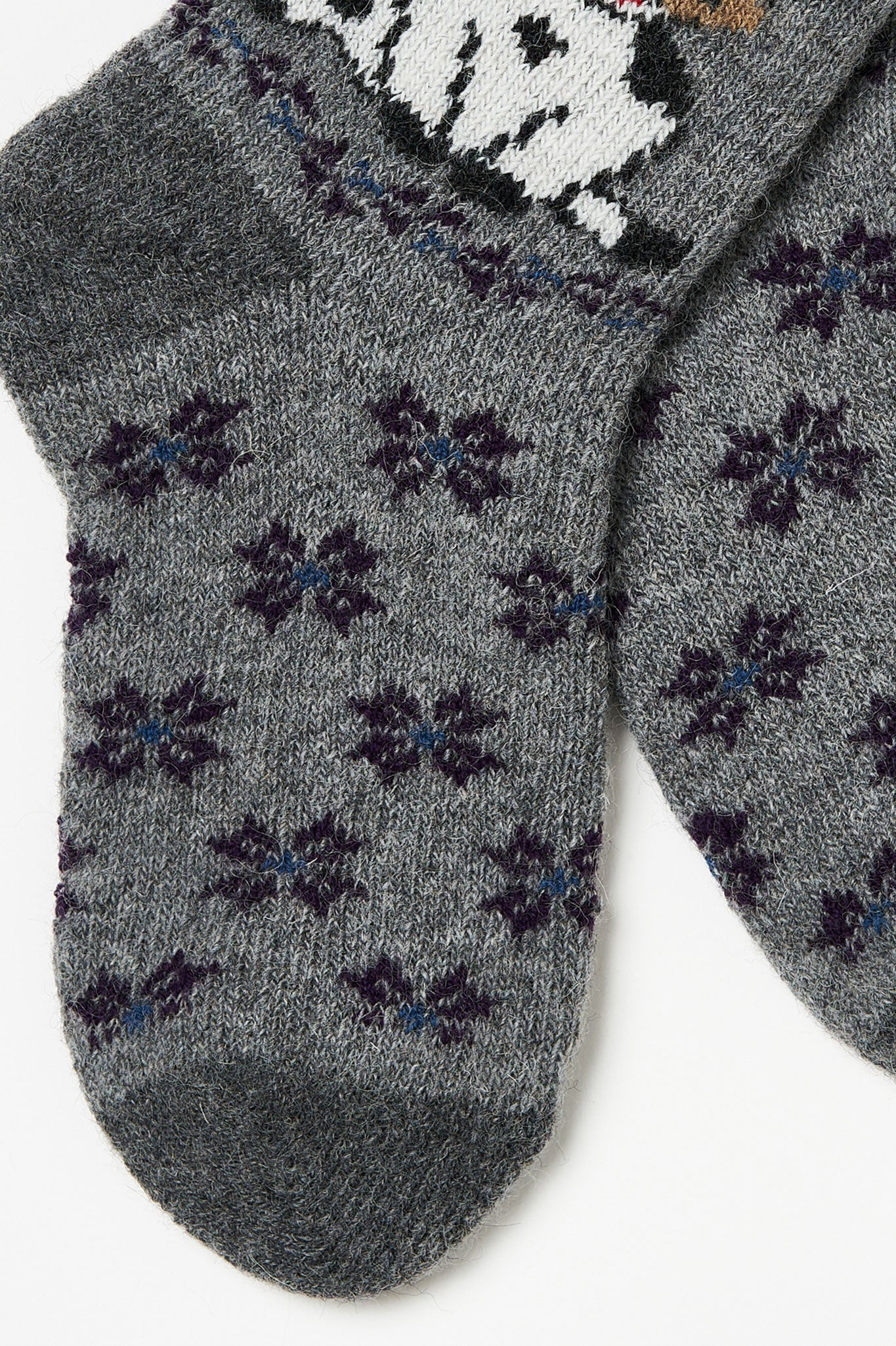 Cows wool socks