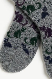 Baby cats wool socks